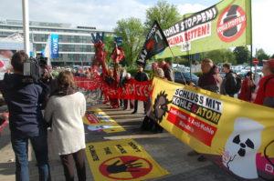 Proteste gegen Kohleabbau und Atomstrom